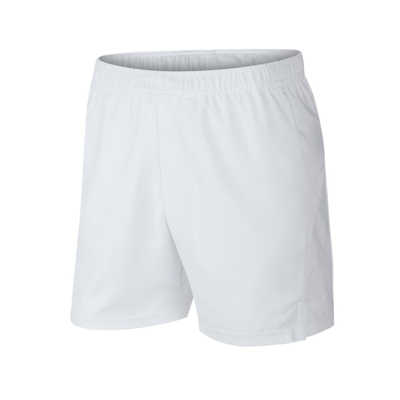 "Nike Court Dry Short 7"" (Men's) - White-Bottoms- Canada Online Tennis Store Shop"