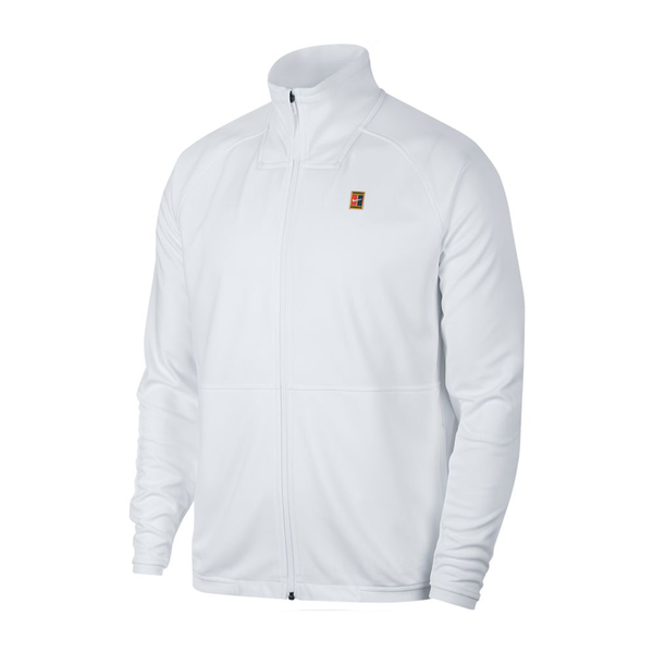 Nike Court Tennis Jacket (Women's) - White-Tops- Canada Online Tennis Store Shop