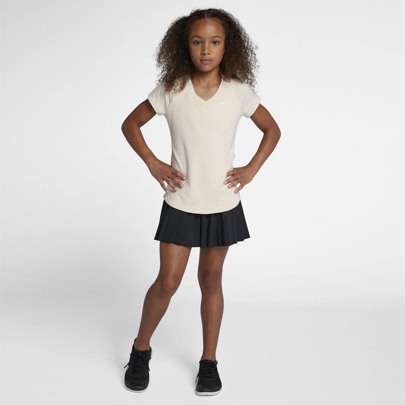 Nike Court Victory Skirt (Girl's) - Black-Bottoms- Canada Online Tennis Store Shop