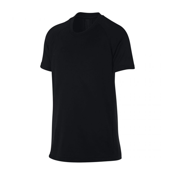 Nike Dri-FIT Academy Short-Sleeve Top (Boy's) - Black/Black-Tops- Canada Online Tennis Store Shop