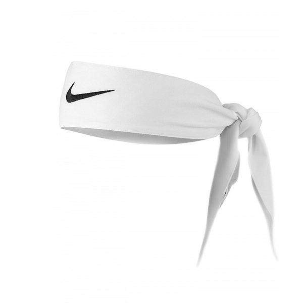Nike Dri-Fit Head Tie 2.0 - White-Headbands- Canada Online Tennis Store Shop
