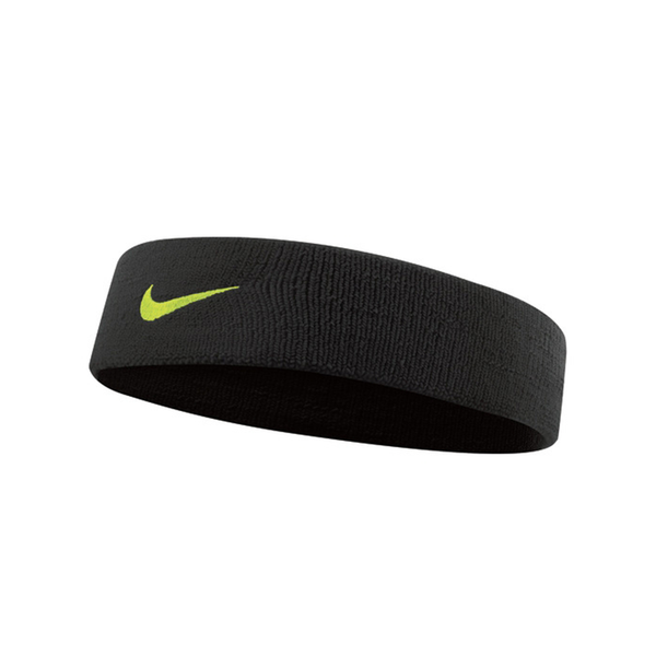 Nike Dri-Fit Headband 2.0 - Black/Volt-Headbands- Canada Online Tennis Store Shop