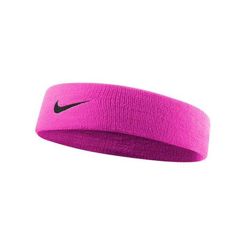 Nike Dri-Fit Headband 2.0 - Pink/Black-Headbands- Canada Online Tennis Store Shop