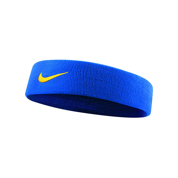 Nike Dri-Fit Headband 2.0 - Royal Blue/Yellow-Headbands- Canada Online Tennis Store Shop