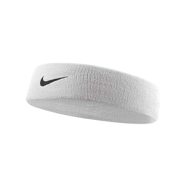Nike Dri-Fit Headband 2.0 - White/Black-Headbands- Canada Online Tennis Store Shop