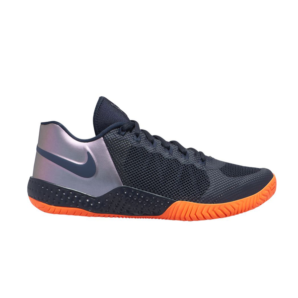 Nike Flare 2 Serena Williams (Women's) - Dark Obsidian/Orange-Footwear- Canada Online Tennis Store Shop