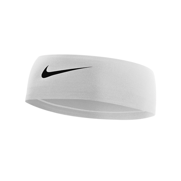 Nike Fury Headband 2.0 - White/Black-Headbands- Canada Online Tennis Store Shop