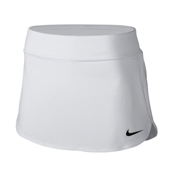 Nike Pure 12'' Tennis Skirt (Women's) - White-Bottoms- Canada Online Tennis Store Shop