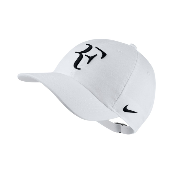 Nike RF Heritage86 Hat - White/Black-Hats- Canada Online Tennis Store Shop