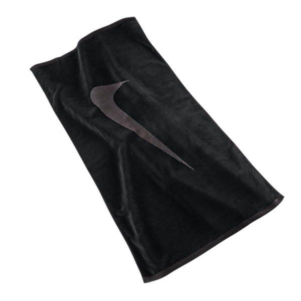 Nike Sport Towel Large - Black/Grey-Towels- Canada Online Tennis Store Shop