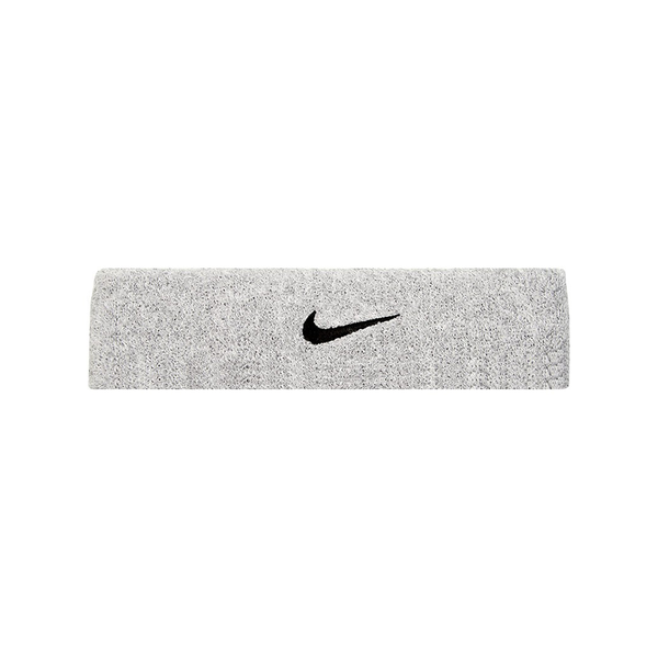 Nike Swoosh Headband - Grey/Black-Headbands- Canada Online Tennis Store Shop