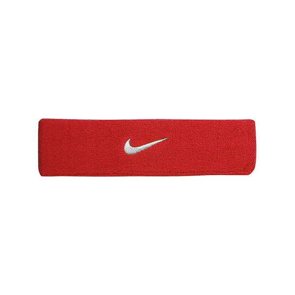 Nike Swoosh Headband - Red/White-Headbands- Canada Online Tennis Store Shop