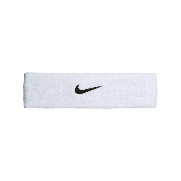 Nike Swoosh Headband - White/Black-Headbands- Canada Online Tennis Store Shop