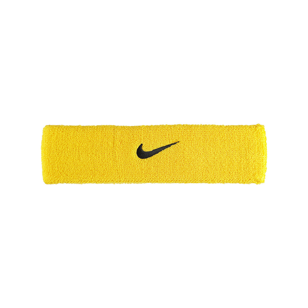 Nike Swoosh Headband - Yellow/Black-Headbands- Canada Online Tennis Store Shop