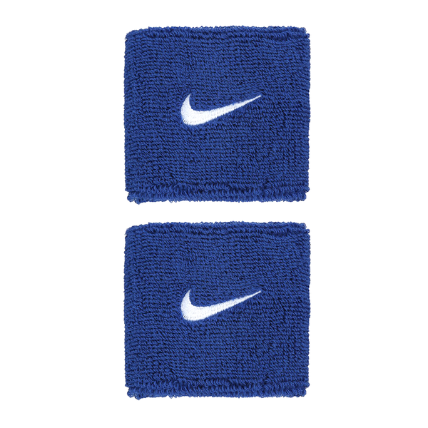 Nike Swoosh Wristbands - Blue/White-Wristbands- Canada Online Tennis Store Shop