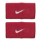 Nike Swoosh Wristbands Doublewide - Red/Silver-Wristbands- Canada Online Tennis Store Shop