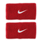 Nike Swoosh Wristbands Doublewide - Red/White-Wristbands- Canada Online Tennis Store Shop