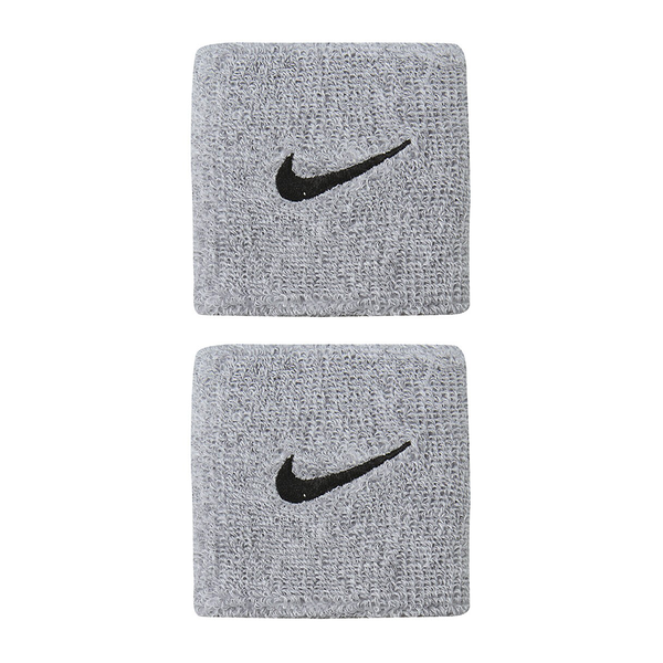 Nike Swoosh Wristbands - Grey/Black-Wristbands- Canada Online Tennis Store Shop
