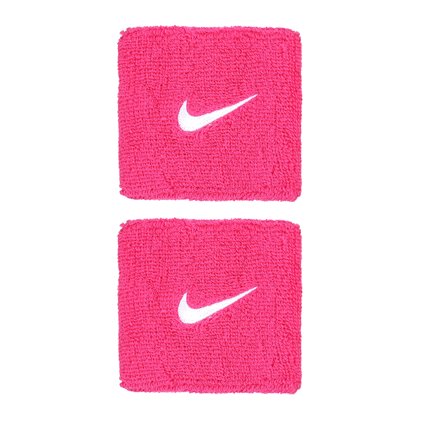 Nike Swoosh Wristbands - Pink/White-Wristbands- Canada Online Tennis Store Shop