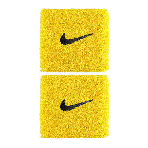 Nike Swoosh Wristbands - Yellow/Black-Wristbands- Canada Online Tennis Store Shop