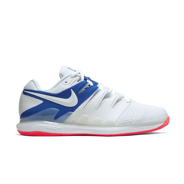 Nike Air Zoom Vapor X (Men's) - White/Game Royal/Flash Crimson-Footwear-online tennis store canada