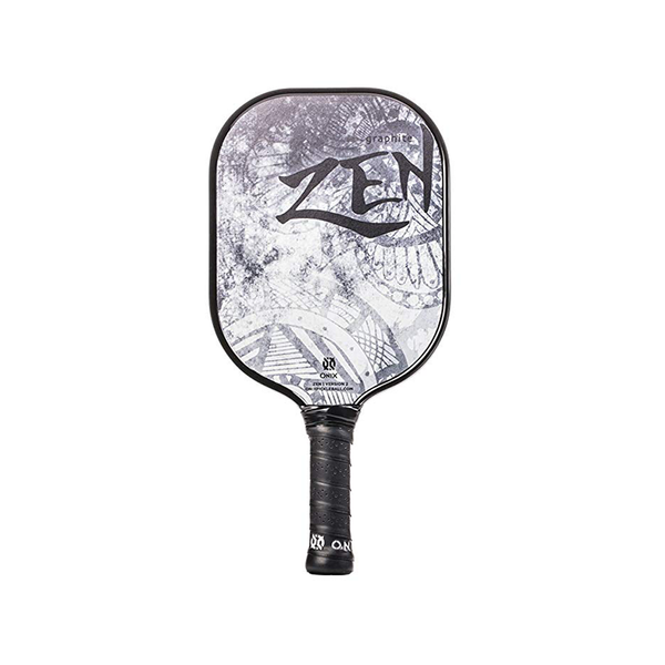 Onix Zen V2 Graphite - White/Black-Pickleball Paddles- Canada Online Tennis Store Shop