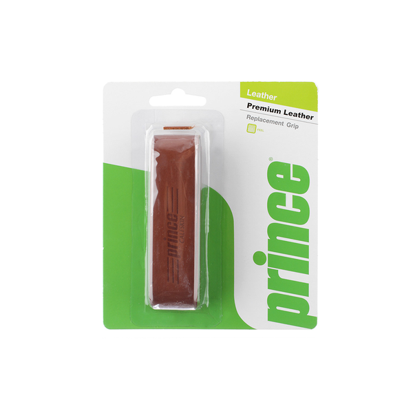 Prince Premium Leather Replacement Grip - Brown-Grips- Canada Online Tennis Store Shop