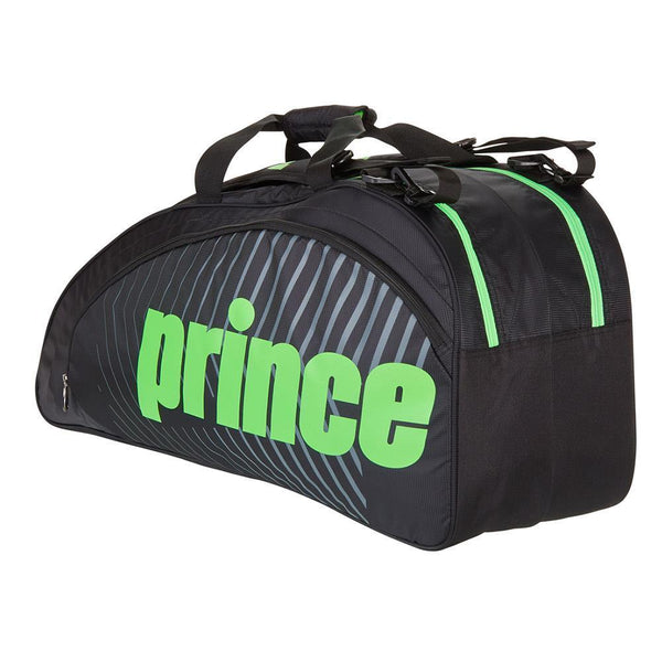 Prince Tour Future 6 Pack Bag - Black/Green-Bags- Canada Online Tennis Store Shop