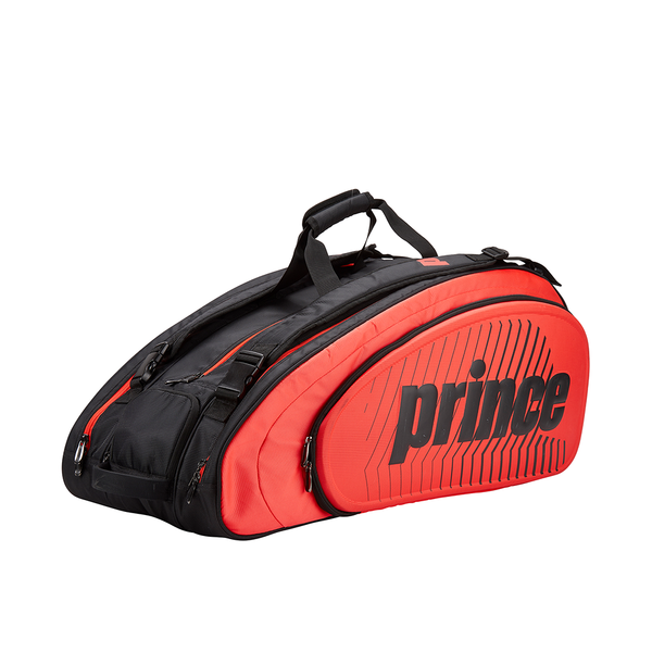 Prince Tour Slam 12 Pack Bag - Red/Black-Bags- Canada Online Tennis Store Shop