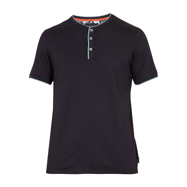 Ted Baker Doey Henley Top (Men's) - Navy-Tops- Canada Online Tennis Store Shop