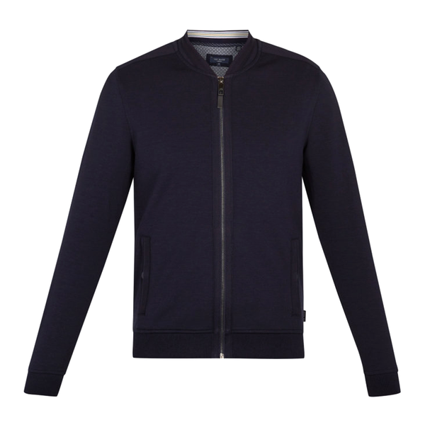 Ted Baker Livid Bomber Jacket (Men's) - Navy-Tops- Canada Online Tennis Store Shop