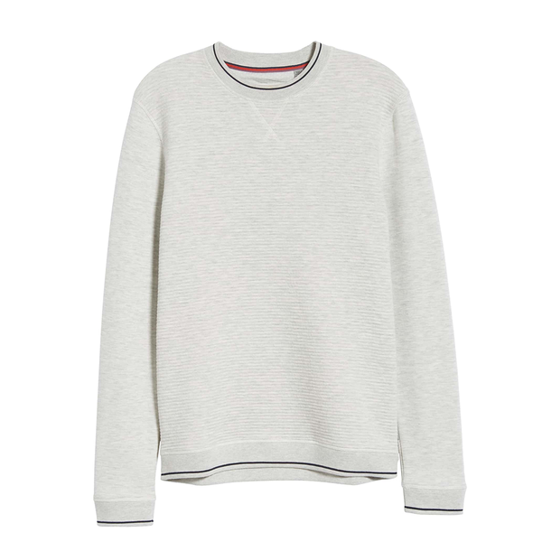 Ted Baker Magiics Sweater (Men's) - Light Grey-Tops- Canada Online Tennis Store Shop