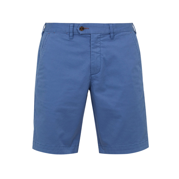 Ted Baker Selshor Cotton Chino Short (Men's) - Bright Blue-Bottoms- Canada Online Tennis Store Shop