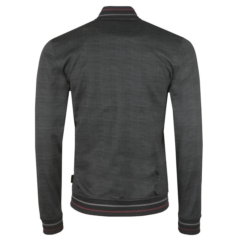 Ted Baker Tootie Checkered Bomber (Men's) - Black/Grey-Tops- Canada Online Tennis Store Shop