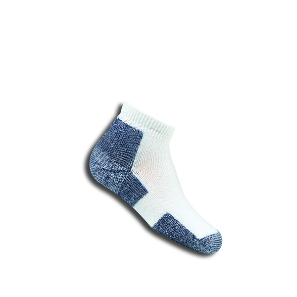 Thorlo KAMX9 Ankle Sport Socks (Junior) - White/Navy-Socks- Canada Online Tennis Store Shop