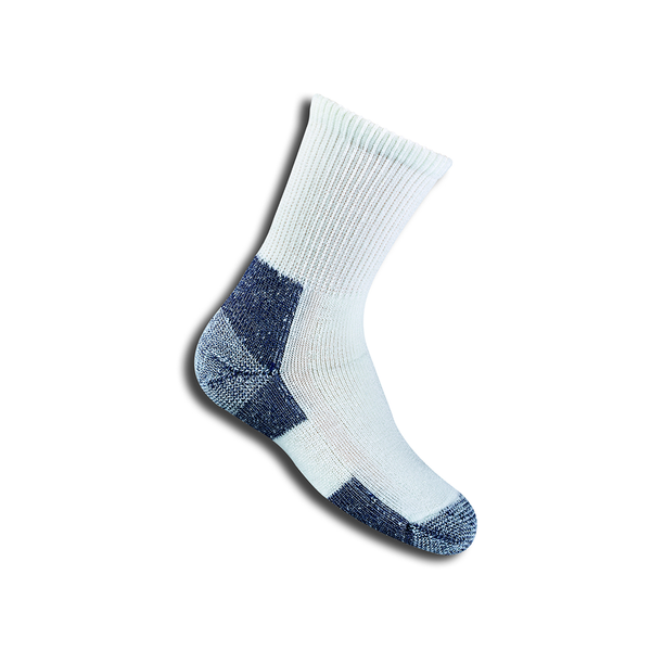 Thorlo KAX7 Crew Sport Socks (Junior) - White/Navy-Socks- Canada Online Tennis Store Shop