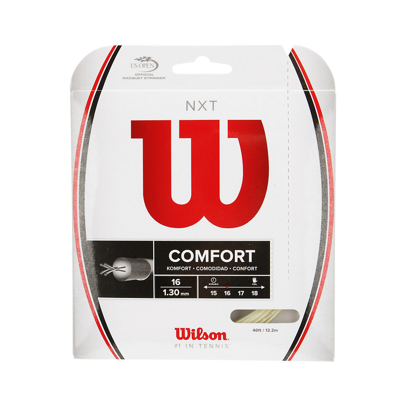 Wilson NXT 16 Pack - Natural-Tennis Strings- Canada Online Tennis Store Shop