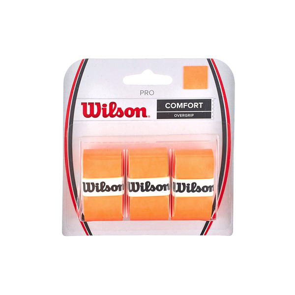 Wilson Pro Overgrip 3-Pack - Orange-Grips- Canada Online Tennis Store Shop