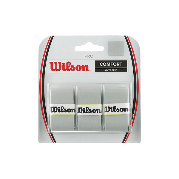 Wilson Pro Overgrip 3-Pack - Silver-Grips- Canada Online Tennis Store Shop