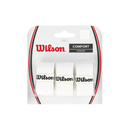 Wilson Pro Overgrip 3-Pack - White-Grips- Canada Online Tennis Store Shop