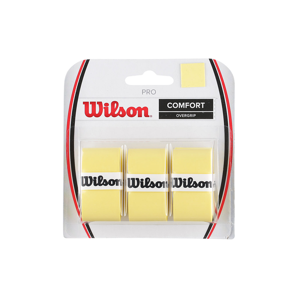Wilson Pro Overgrip 3-Pack - Yellow-Grips- Canada Online Tennis Store Shop