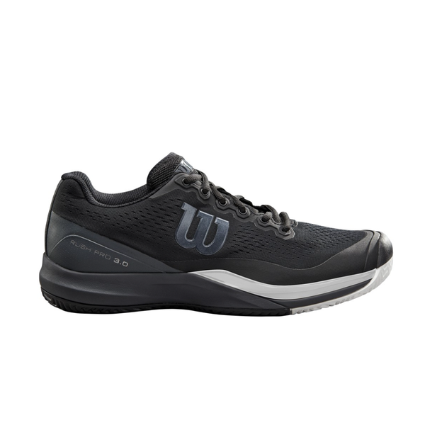 Wilson Rush Pro 3.0 (Men's) - Black/White-Footwear- Canada Online Tennis Store Shop