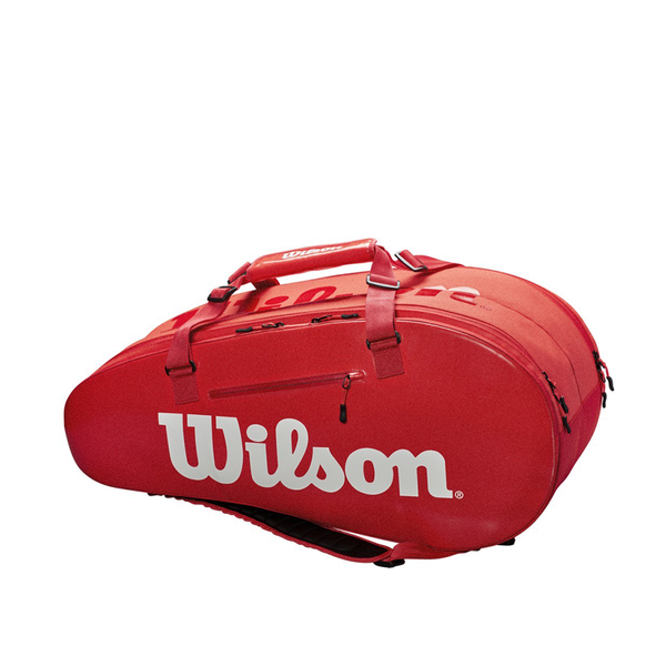 Wilson Super Tour Large 2-Compartment Bag - Red-Bags- Canada Online Tennis Store Shop