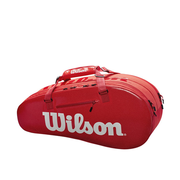Wilson Super Tour Small 2-Compartment Bag - Red-Bags- Canada Online Tennis Store Shop