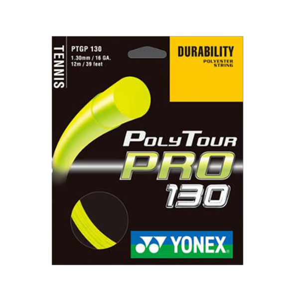 Yonex Poly Tour Pro 130 16 Pack - Yellow-Tennis Strings- Canada Online Tennis Store Shop