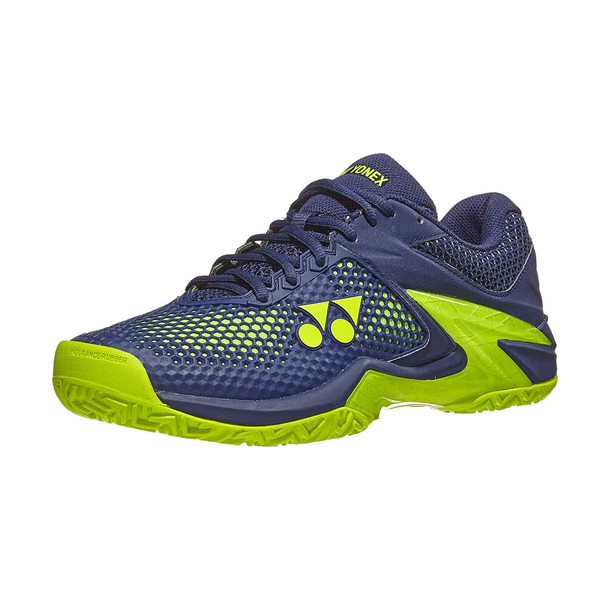 Yonex Power Cushion Eclipsion 2 (Men's) - Navy/Yellow-Footwear- Canada Online Tennis Store Shop