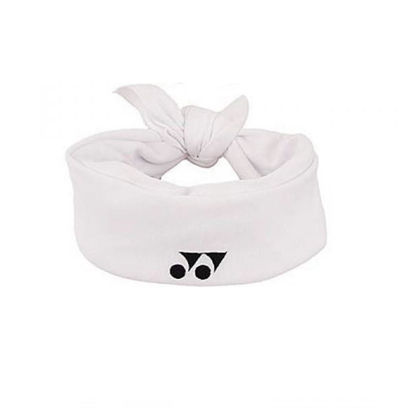 Yonex Thick Bandana - White-Headbands- Canada Online Tennis Store Shop