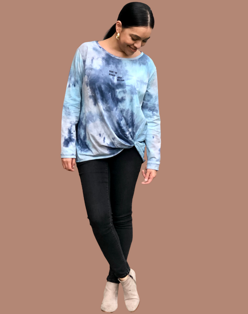 Just Believe (Tie Dye Long Sleeve)