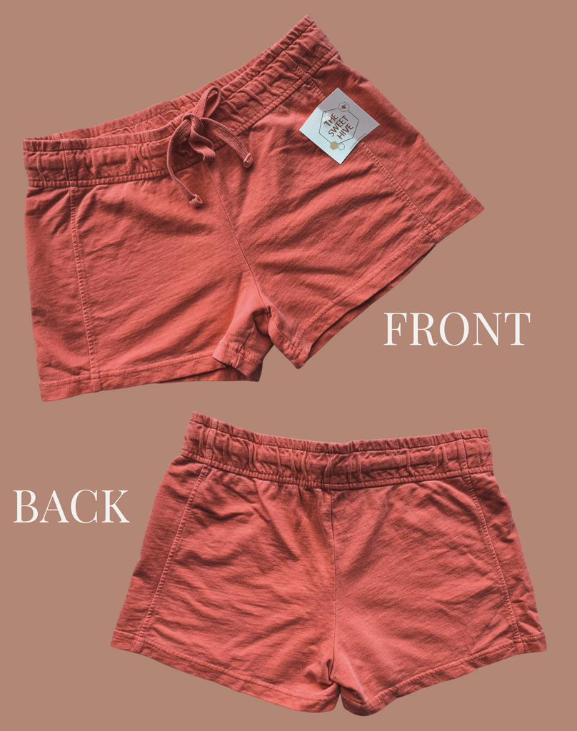 French Terry Shorts (Pink)