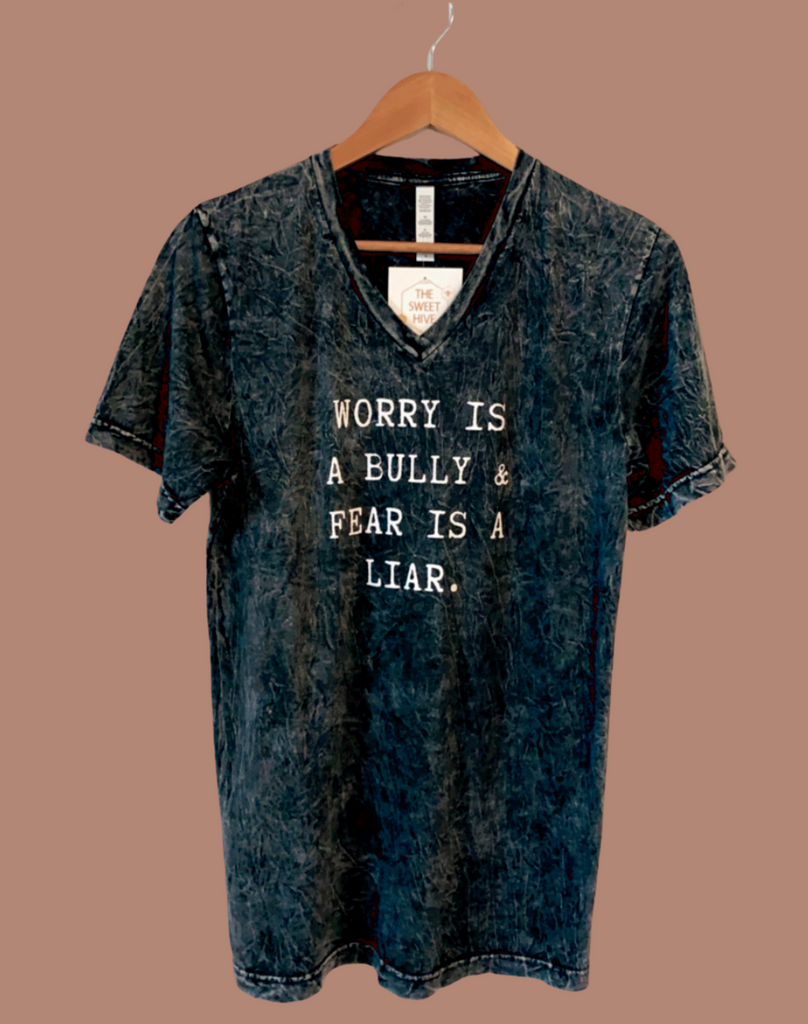 Worry Is A Bully (V Neck)